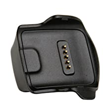 Generic R350 Magnetic USB Charger Dock Station Cradle Adapter for Samsung Gear Fit Smart Watch Black