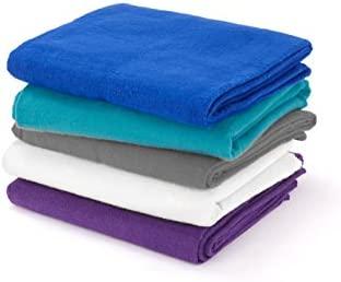 Yogamatters - Manta de algodón para Yoga Azul Azul Real ...