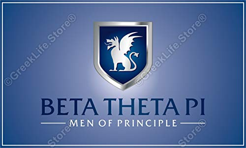 Beta Theta Pi Officially Licensed Computer Tablet Decal Sticker 3x5 ()
