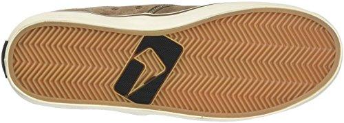 Zapatillas Skateboard de para Hombre Taupe Motley Globe Braun Antique qAx7OO
