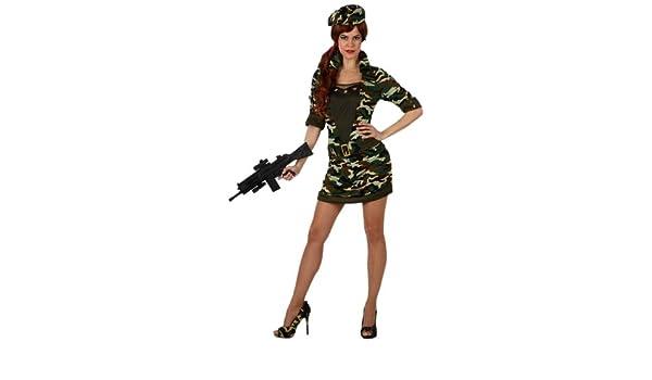 Atosa - Disfraz de soldado para mujer, talla XL (10318): Amazon.es ...