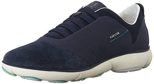 - Geox Women's Nebula 4 Sneaker, Navy, 39 M EU (9 US)