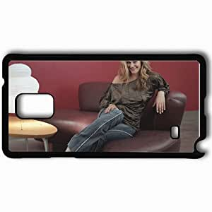 Personalized Samsung Note 4 Cell phone Case/Cover Skin Alicia Silverstone Black by icecream design
