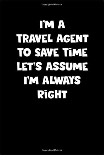 Travel Agent Notebook - Travel Agent Diary - Travel Agent