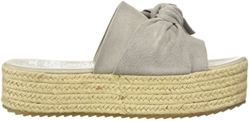 COOLWAY Women's Winky Espadrille Wedge Sandal Grey oRThrVstzK