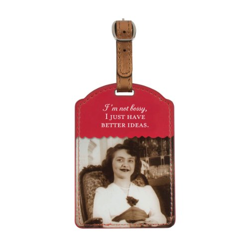 Price comparison product image Shannon Martin Design Luggage Tag,  I'm Not Bossy