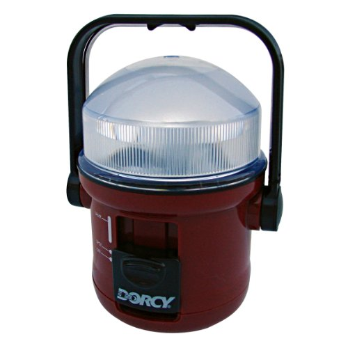 Dorcy 41-1015 Dual Spotlight and Floodlight Lamp with Kickstand and Hook, 46-Lumens, Assorted Colors