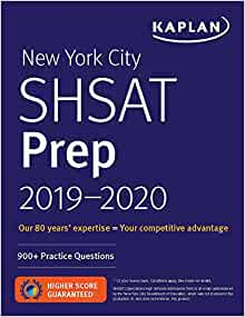New York City SHSAT Prep 2019-2020: 900+ Practice