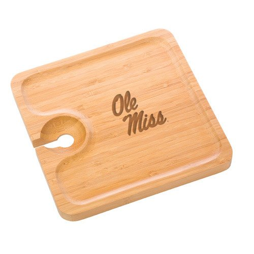 Mississippi Bamboo Party Plate