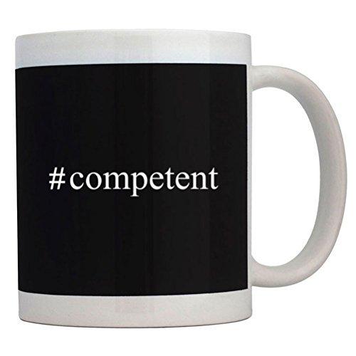Fuuny Coffee Mugs #competent Hashtag Mug