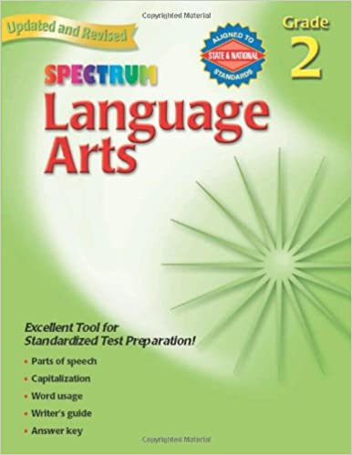 Amazon.com: Spectrum Language Arts, Grade 2 (0087577920023 ...