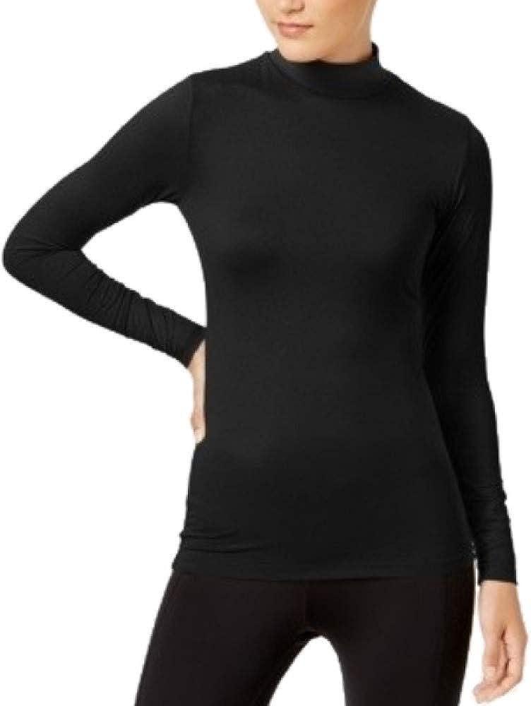 32 DEGREES Cozy Heat Mock-Neck Top Black XL