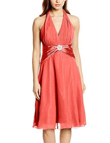Para 34 Astrapahl Mujer koralle Pd8002ap Rosa Vestido qgT41B
