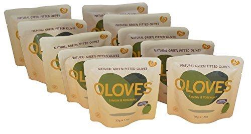 Oloves Olives Lemon and Rosemary 1.1oz (Pack of ()
