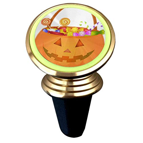 Bumpy Little Pumpkin with Candy Universal Magnetic Luminous Rotary Car Phone Holder Air Vent Mount Phone Mount