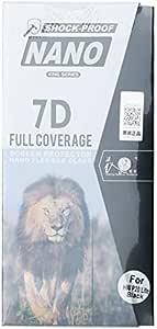 شوك بروف شاشة حماية نانو مع تغطية كاملة للجوال هواوي بي 20 لايت  , اسود