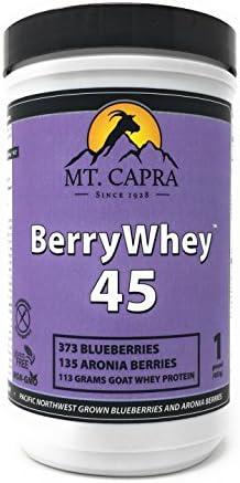 MT. CAPRA SINCE 1928 Berry Whey Blueberries Aronia, 1 Pound