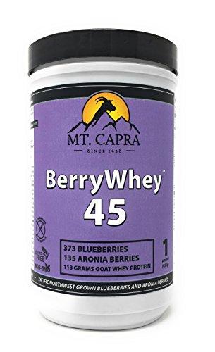 MT. CAPRA SINCE 1928 Berry Whey Blueberries & Aronia, 1 - Mt Capra Mineral Powder Whey