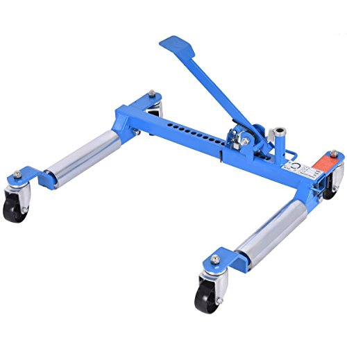 Goplus Wheel Dolly Car Skates Vehicle Positioning Hydraulic Tire Jack, 1250 lb (Blue) by Goplus (Image #10)