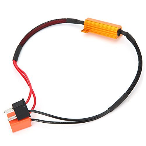 ILS - H7 50W-8Ohm Canbus Error Free Load Resistor Car LED Decoder Warning Canceler 12V ILS.