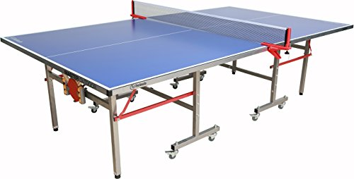 Cheap Garlando Master Indoor/Outdoor Table Tennis Table, Blue Top