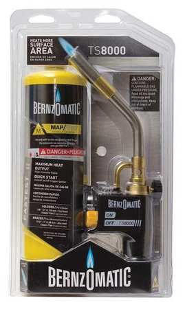 Bernzomatic TS8000BZKC Premium Trigger-Start Torch Kit