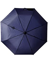 Titan Auto Open Close Umbrella, Navy, One Size