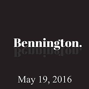 Bennington, Barry Crimmins, May 19, 2016 Radio/TV Program