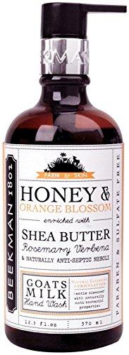 Beekman 1802 Goat Milk Hand Wash - Honey & Orange Blossom - 12.5 oz