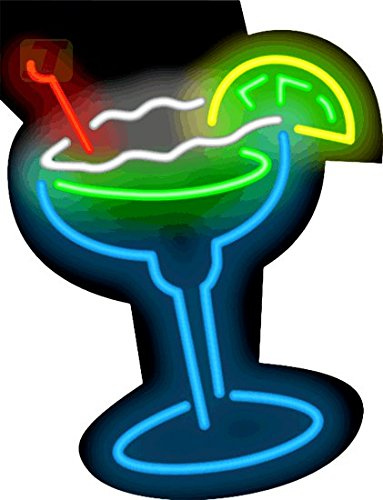 Margarita Glass Neon Sign (Margarita Neon Sign)