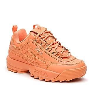 Fila Disruptor II Premium Women's Sneaker 7.5 B(M) US Orange-Orange-Orange