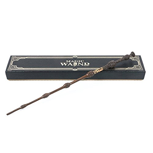 Cultured Customs Magical Wand Replicas - Steel Core Cosplay Prop Collectible + Free Bonus Collectible Trading Card (Albus)