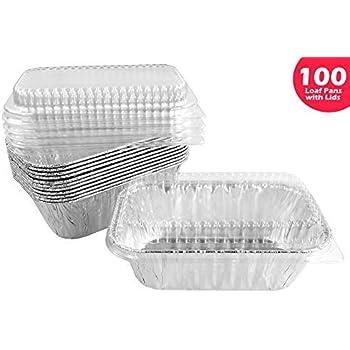 Amazon Com 93835 Hefty Ez Foil Bake Mini Loaf Pan 5 75 Quot X3