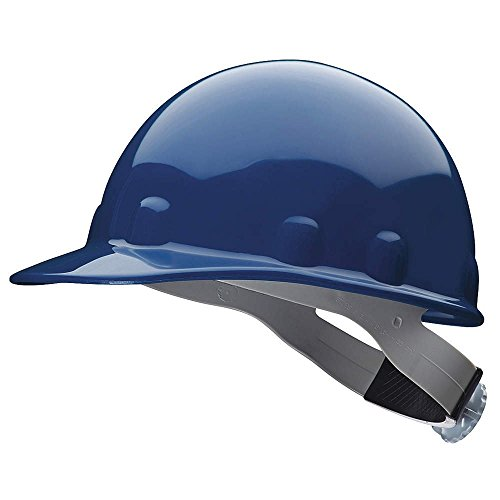 Full Graphics Hard Hat - Hard Hat, Front Brim, E/G/C, Ratchet, Dk Blu