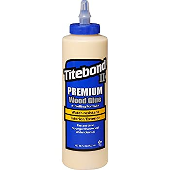 Titebond 5004 II Premium Wood Glue, 16-Ounces
