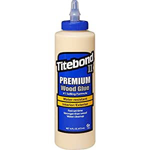 Franklin International 5004 Titebond-2 Premium Wood Glue, 16-Ounce