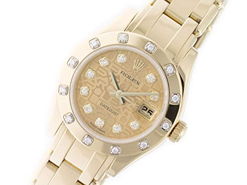Rolex Masterpiece Automatic-self-Wind Female Watch 80318 (Certified Pre-Owned)