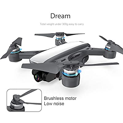 Drone CFLYAI Dream01 with 1080P Camera Live Video 4K Still Photos Mini Drone Stabilized Gimbal Camera FPV Drones GPS Return Home Portable Quadcopter