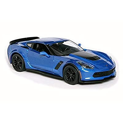 Maisto 1:24 2015 Corvette ZO6 Diecast Vehicle (Colors May Vary): Toys & Games