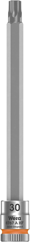 TX 20 x 28 mm Wera 05003364001 8767 A HF Torx Zyklop Bitnuss mit 1//4-Antrieb mit Haltefunktion Pink,
