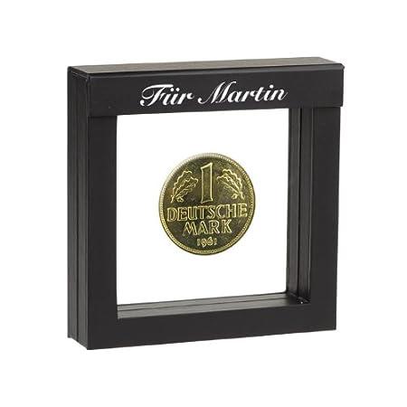 Historia 1 Dm Münze 1968 Vergoldet Mit Ihrer Individuellen Namens