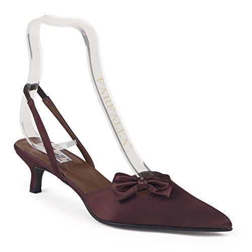 FARFALLA Luxury Shoes Brown KeCgQWeZu2