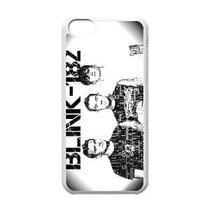 Design Cases iPhone 5C Cell Phone Case White Blink 182 Rrqcs Printed Cover