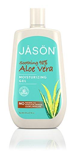 Jason Natural Aloe Vera 98 Percent Moisturizing Gel 16 Ounce