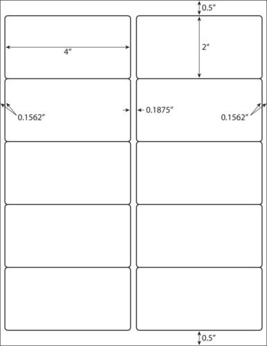100 sheet pack 1000 labels total standard address labels for Avery 8463 template for word