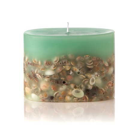 Sea Glass Petite Oval Botanical Candle by (Botanical Fireplace)
