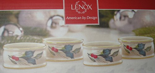 Lenox American by Design Napkin Rings Set of 4 ()