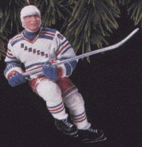 Hockey Greats: Wayne Gretzky 1st in Series 1997 Hallmark Keepsake Ornament ()