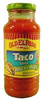 Old El Paso: Mild Taco Sauce, 16 Oz