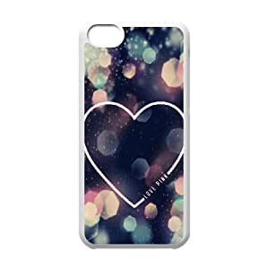 Love Pink Unique Fashion Printing Phone Case for Iphone 5C,personalized cover case ygtg568989